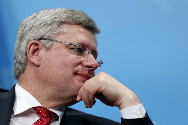 Officiellement, M. Harper se dit neutre dans la... (PHOTO ARCHIVES REUTERS)