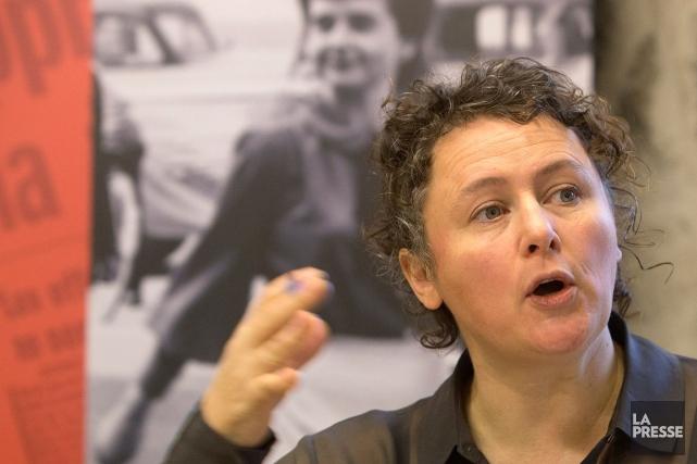 Alexa Conradi, la directricede la Fédération des femmes... (PHOTO ROBERT SKINNER, ARCHIVES LA PRESSE)