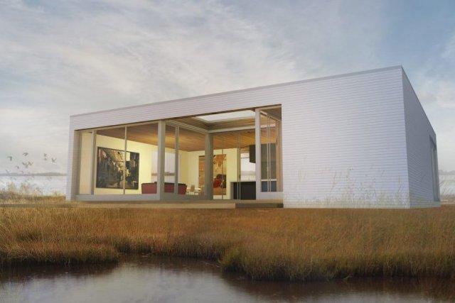La maison PUR-C, «première maison cabriolet», selon Les... (Image fournie par Les Industries Bonneville)