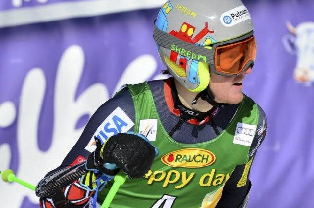 Ted Ligety... (Photo Jure Makovec, AFP)
