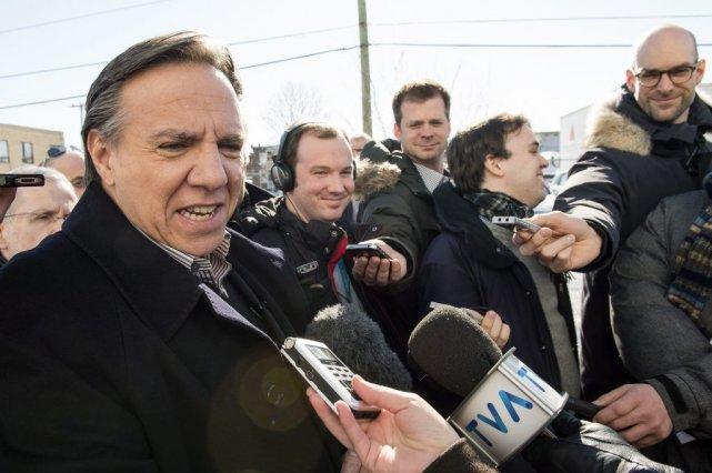 Interrogé sur la difficulté de son parti à... (Paul Chiasson, La Presse Canadienne)