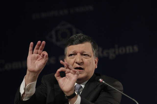 Le président de la Commission européenne, José Manuel... (Photo Kostas Tsironis, AP)
