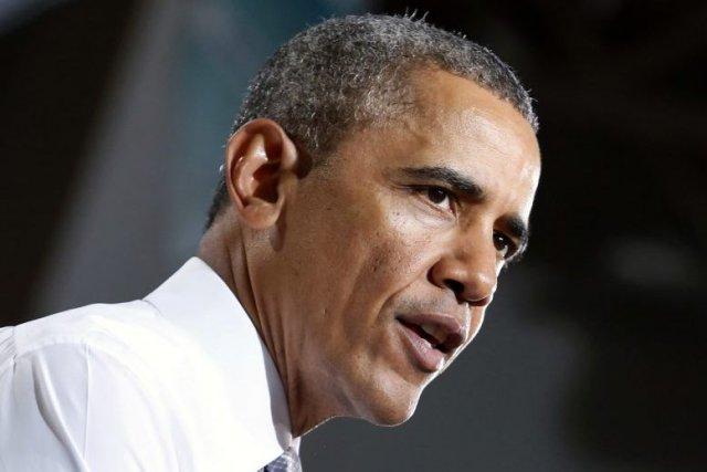 Le président américain Barack Obama.... (PHOTO YURI GRIPAS, AFP)