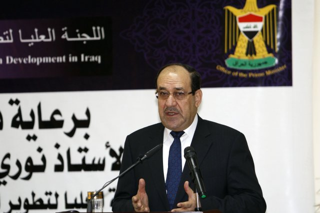 Le premier ministre irakien,Nouri al-Maliki... (Photo archives Reuters)
