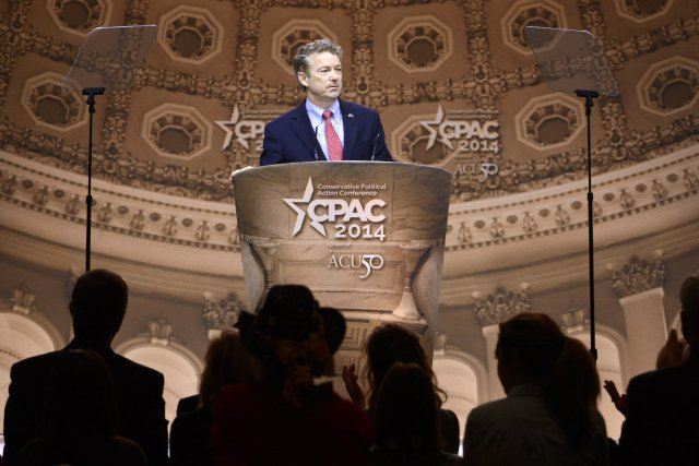 Rand Paul, 51 ans, a recueilli 31% des... (Photo Mike Theiler, Reuters)