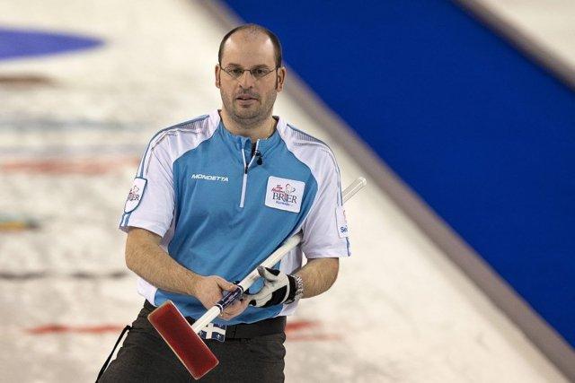 Le capitaine de l'équipe Québec Jean-Michel Ménard.... (PHOTO ANDREW VAUGHAN, PC)
