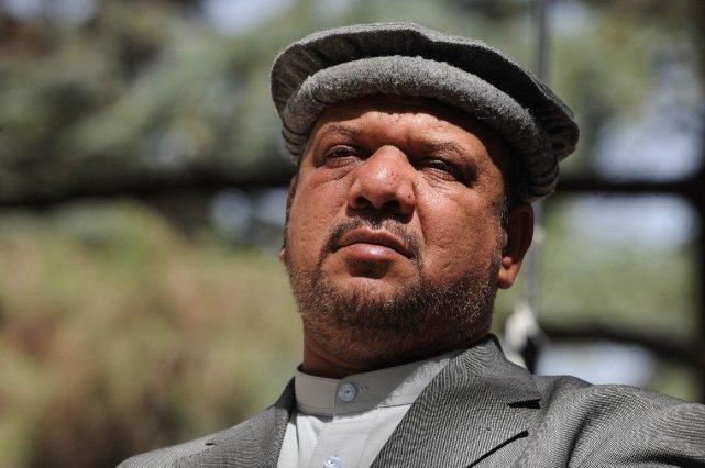 Le premier vice-président afghan, Mohammad Qasim Fahim... (PHOTO SHAH MARAI, AFP)