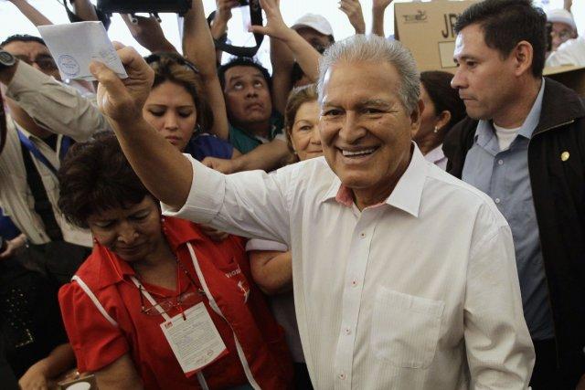 Salvador Sanchez Ceren, ancienmembre du haut commandant de... (Photo HENRY ROMERO, Reuters)