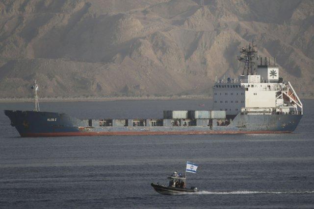 La plupart des analystes israéliens, doutent que l'interception... (Photo: Reuters)