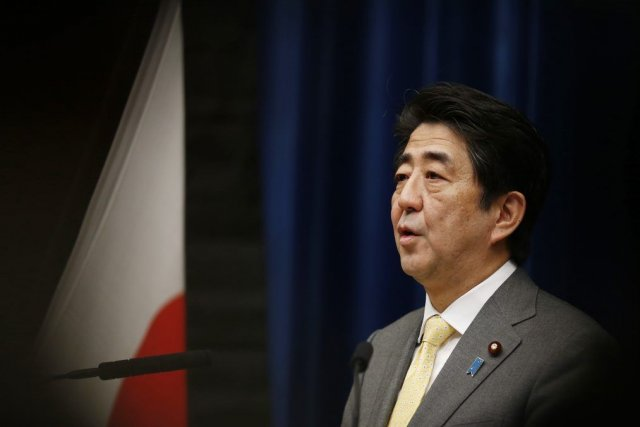 Le premier ministre du Japon, Shinzo Abe.... (PHOTO ISSEI KATO, REUTERS)