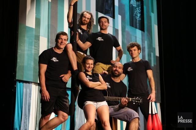 La troupe de cirque de Québec Flip Fabrique... (Photo: Martin Chamberland, La Presse)