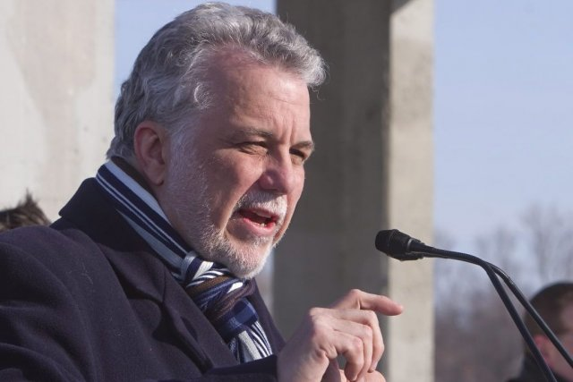 Philippe Couillard... (Photo La Presse Canadienne)