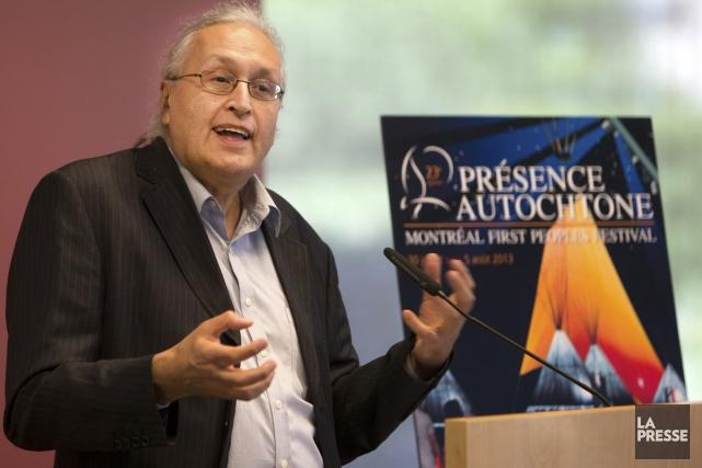 André Dudemaine, maître d'oeuvre et directeur artistique de... (Photo: Robert Skinner, La Presse)