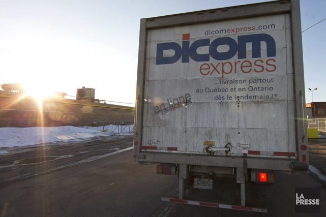 Le Groupe Dicom Transport est un fournisseur de... (Photo Robert Skinner, archives La Presse)