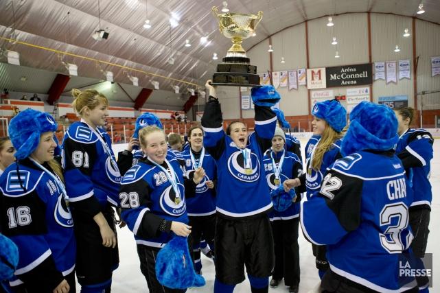 Les Carabins de l'Université de Montréal ont vaincu... (Photo Robert Skinner, La Presse4)