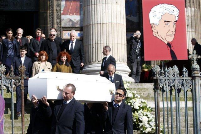La «troupe» Alain Resnais, emmenée par Pierre Arditi et André Dussolier, et... (Photo: Reuters)