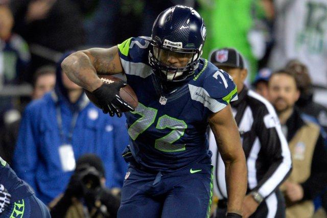 L'ailier défensif Michael Bennett, des Seahawks de Seattle.... (Photo Steven Bisig, USA Today)