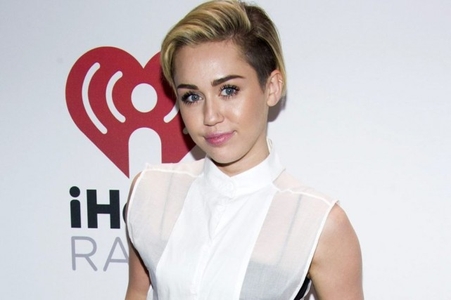 Miley Cyrus... (Photo: archives AP)