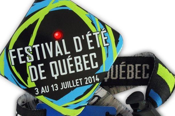Le système est simple: les gens affichent leur... (Festival d'été de Québec)