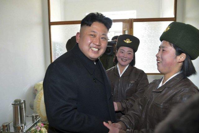 Le dictateur nord-coréen s'est fait réélire avec 699... (PHOTO AFP, KCNA VIA KNS)