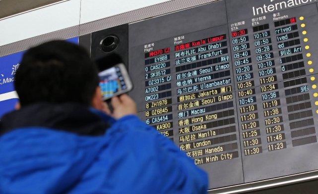 Le vol MH 370 a disparu sans laisser... (Photo Kim Kyung-Hoon, Reuters)