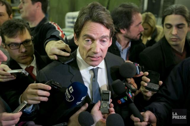 Pierre Karl Péladeau... (Photo: David Boily, La Presse)