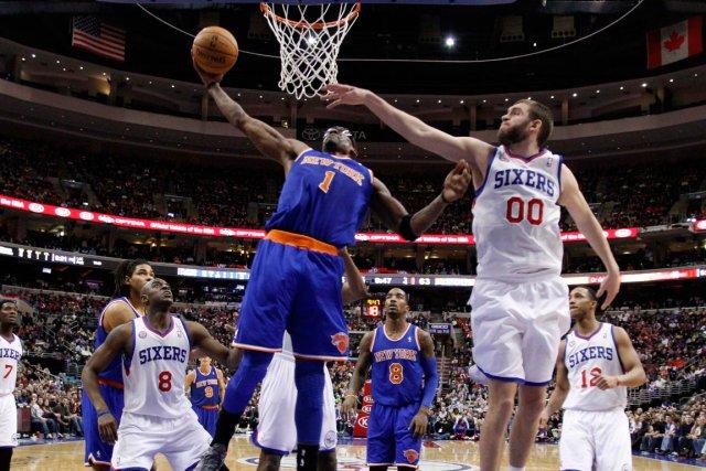 Les Knicks de New York ont défait les... (Photo Tim Shaffer, Reuters)