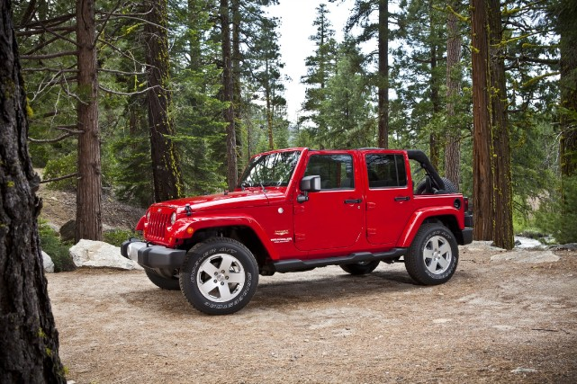 Le Jeep Wrangler... (Photo fournie par Chrysler)