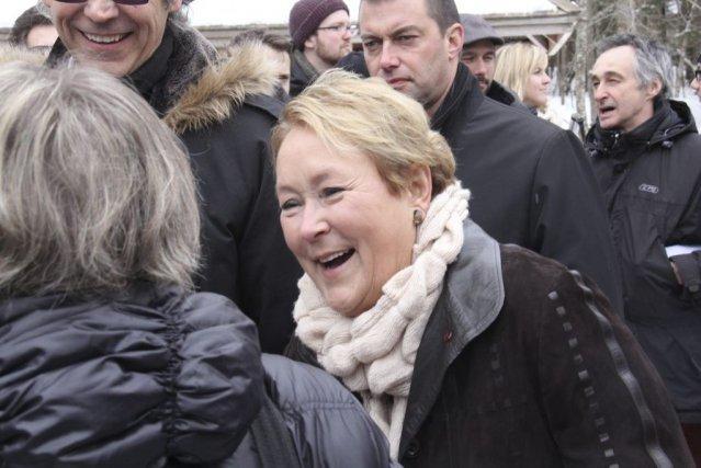 Pauline Marois... (Photo Gesca)