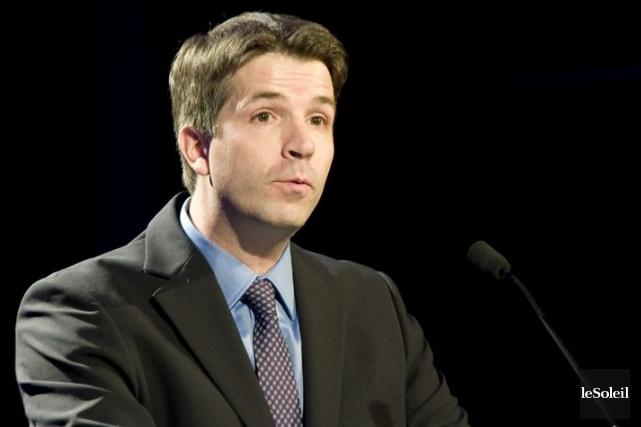 Jean-François Fortin est député de Haute-Gaspésie-La Mitis-Matane-Matapédia... (Photothèque Le Soleil)