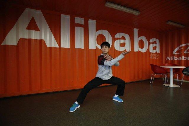 Les géants de l'Internet Tencent et Alibabaont été... (Photo AP)