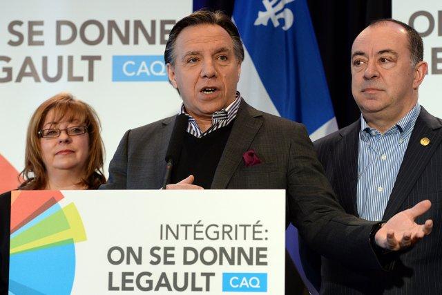 François Legault... (Photo Le Soleil)