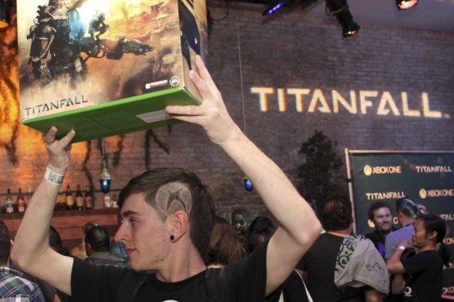 «Titanfallest vraiment le gros titre pour la Xbox... (Photo Hal Horowitz/Invision for Microsoft/AP Images)