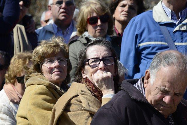 Dix ans après la tragédie, les Espagnols revivaient... (Photo JAVIER SORIANO, AFP)