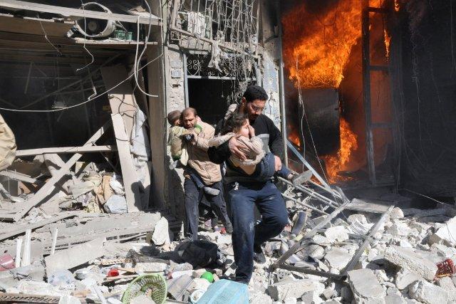 La guerre en Syrie a fait plus de... (Photo BARAA AL-HALABI, AFP)