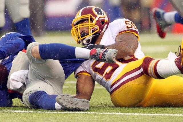 La NFL devrait faire pression sur les Redskins de Washington pour qu'ils... (Photo Brad Penner, archives USA Today)