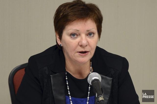 La directrice générale de l'Association québécoise des établissements... (Photo archives La Presse)