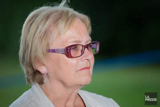 La mairesse de Lac-Mégantic, Colette Roy-Laroche... (Photo Edouard Plante-Fréchette, La Presse)