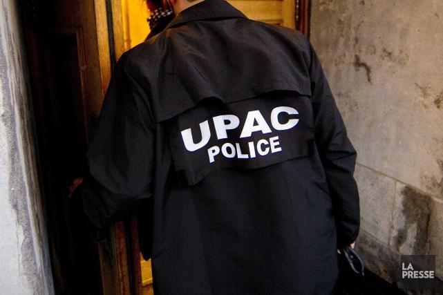 L'Unité permanente anticorruption (UPAC) était à nouveau à l'oeuvre sur le... (Photothèque La Presse)
