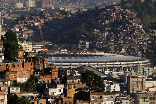 Un stade accueillant le Mondial à Rio... (Photo SERGIO MORAES, Reuters)