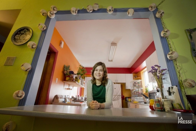 À 26ans, Mireille Brabant a appris qu'elle souffrait... (PHOTO IVANOH DEMERS, LA PRESSE)