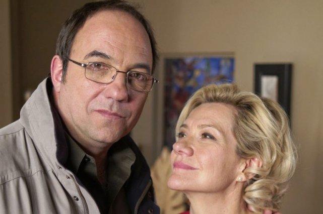 Le couple Philippe et Réjanne (Denis Bernard et... (Photo: La Presse Canadienne)