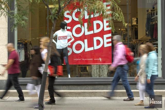 Les perspectives ne sont pas très réjouissantes pour les détaillants du Québec.... (Photo David Boily, archives La Presse)