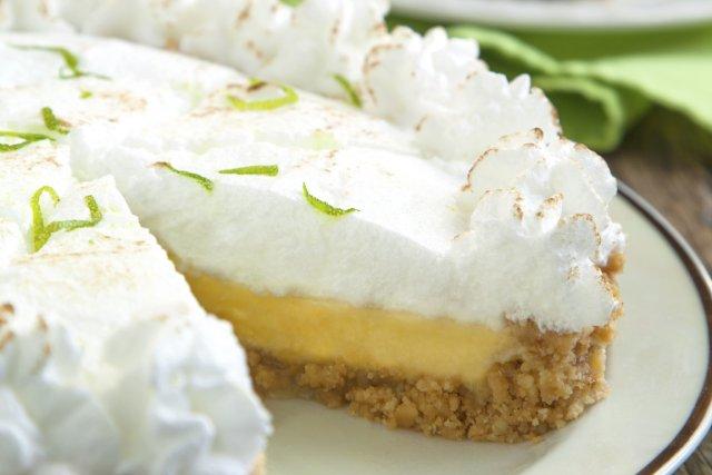 On n'a pas à rester longtemps en Floride pour trouver de la «Key Lime Pie» au... (Photo Digital/Thinkstock)