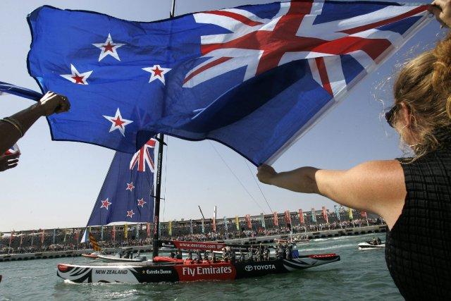 Ancienne colonie britannique, la Nouvelle-Zélande dirige sa destinée... (Photo Bernat Armangue, AP)