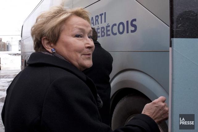 La chef du Parti québécois, Pauline Marois.... (Photo La Presse Canadienne)