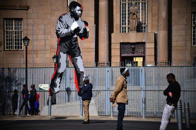 C'est le 5 décembre, à la mort de... (PHOTO MUJAHID SAFODIEN, AFP)