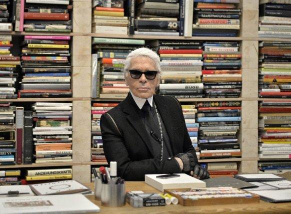 Karl Lagerfeld... (Photo Martin Meissner, AP)