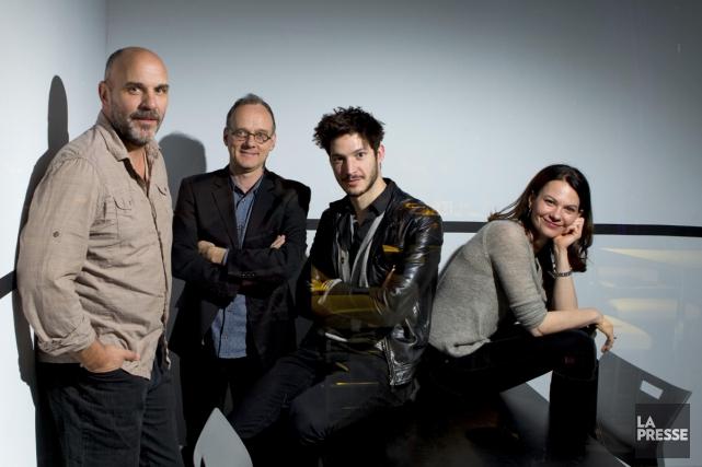 Au nombre des comédiens de la nouvelle série... (Photo: Alain Roberge, La Presse)