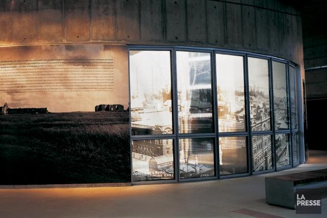 Une visite au Musée de l'apartheid à Johannesburg... (Photo Sylvie St-Jacques, La Presse)